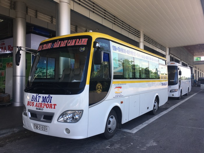 ニャチャン シャトルバス105