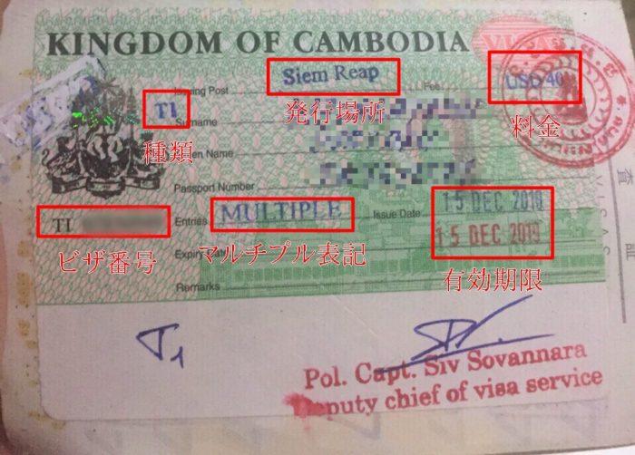 カンボジアマルチプルビザ1